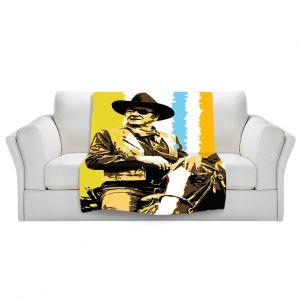 Artistic Sherpa Pile Blankets   Ty Jeter The Duke