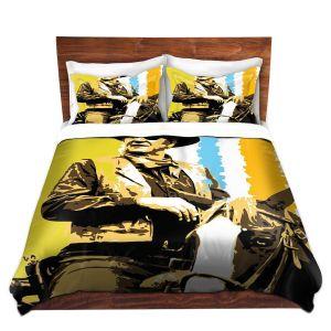 Artistic Duvet Covers and Shams Bedding | Ty Jeter - The Duke
