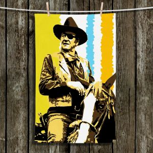 Unique Hanging Tea Towels | Ty Jeter - The Duke | John Wayne Horse Movie Star