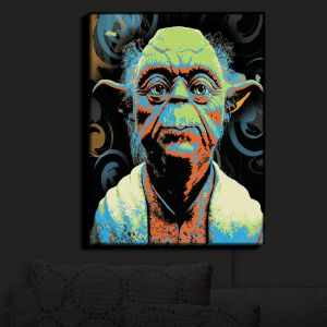 Unique Illuminated Wall Art 20 x 16 from DiaNoche Designs by Ty Jeter - Yoda