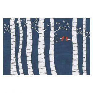 Decorative Floor Coverings | Valerie Lorimer - Always and Forever | Birds Trees