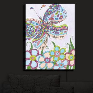 Unique Illuminated Wall Art 20 x 16 from DiaNoche Designs by Valerie Lorimer - Beatiful Soul