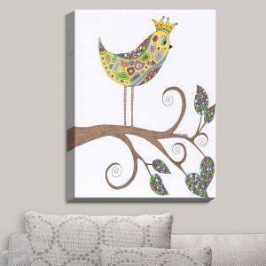 Decorative Canvas Wall Art   Valerie Lorimer - Bird Talk