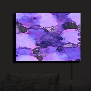 Nightlight Sconce Canvas Light | Valerie Lorimer - Butterfly Wings | pattern abstract nature