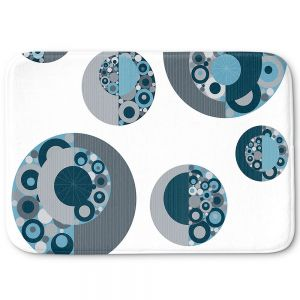 Decorative Bath Mat Small from DiaNoche Designs by Valerie Lorimer - Circle Around