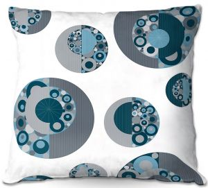 Unique Throw Pillows from DiaNoche Designs by Valerie Lorimer - Circle Around