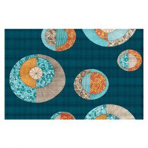 Decorative Floor Coverings | Valerie Lorimer - Circles MCM 2
