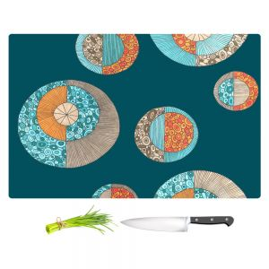 Artistic Kitchen Bar Cutting Boards | Valerie Lorimer - Circles MCM 2