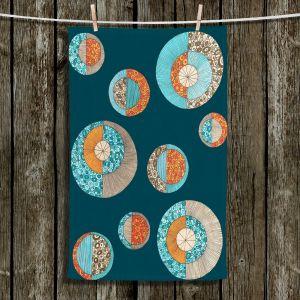 Unique Bathroom Towels | Valerie Lorimer - Circles MCM II