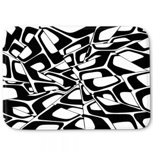 Decorative Bathroom Mats | Valerie Lorimer - City Center | Abstract Pattern Repetition