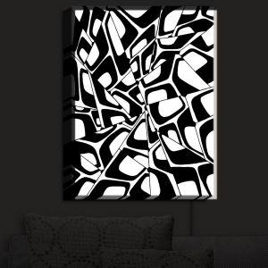 Nightlight Sconce Canvas Light | Valerie Lorimer - City Center