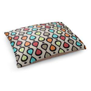 Decorative Dog Pet Beds   Valerie Lorimer - Dance With Me   Pattern repetition geometric