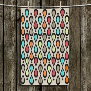 Unique Bathroom Towels | Valerie Lorimer - Dance With Me | Pattern repetition geometric
