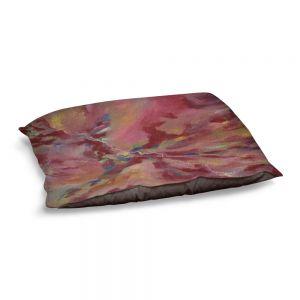 Decorative Dog Pet Beds | Valerie Lorimer - Dancing Rose Glasses | Abstract