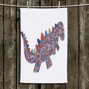 Unique Hanging Tea Towels | Valerie Lorimer - Dinosaur on the Roam | Dinosaur
