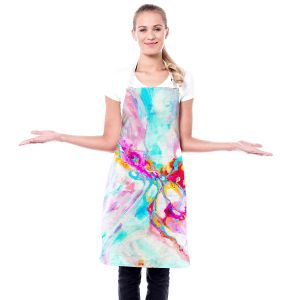 Artistic Bakers Aprons   Valerie Lorimer - Ethereal Sea Sky   Abstract