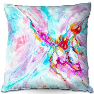 Decorative Outdoor Patio Pillow Cushion | Valerie Lorimer - Ethereal Sea Sky | Abstract