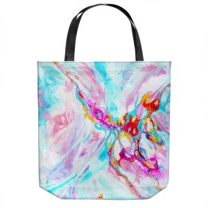 Unique Shoulder Bag Tote Bags | Valerie Lorimer - Ethereal Sea Sky | Abstract