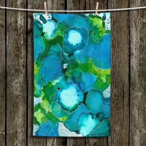 Unique Hanging Tea Towels | Valerie Lorimer - Fields of Abundance | pattern abstract nature