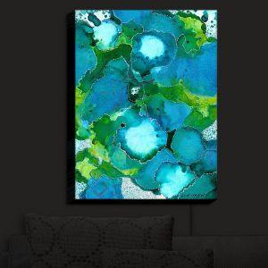 Nightlight Sconce Canvas Light | Valerie Lorimer - Fields of Abundance | pattern abstract nature