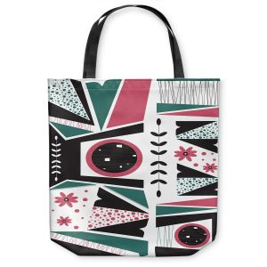 Unique Shoulder Bag Tote Bags | Valerie Lorimer - Fresh Mojo | Abstract shapes