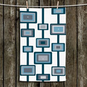 Unique Hanging Tea Towels | Valerie Lorimer - Groove | Patterns Shapes