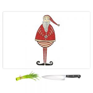 Artistic Kitchen Bar Cutting Boards | Valerie Lorimer - Jolly St Nick