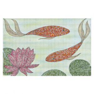 Decorative Floor Coverings | Valerie Lorimer - Koi Pond