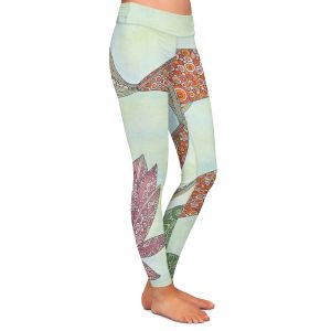 Casual Comfortable Leggings | Valerie Lorimer - Koi Pond