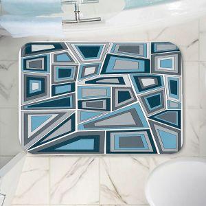 Decorative Bathroom Mats | Valerie Lorimer - Mid Century Tango