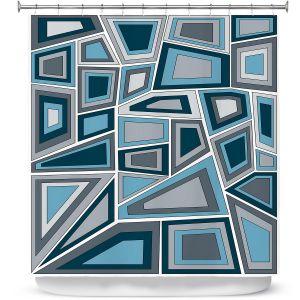 Premium Shower Curtains | Valerie Lorimer - Mid Century Tango