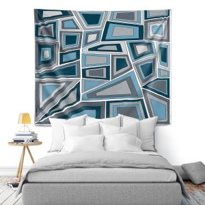 Artistic Wall Tapestry | Valerie Lorimer - Mid Century Tango