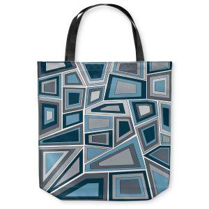 Unique Shoulder Bag Tote Bags | Valerie Lorimer - Mid Century Tango