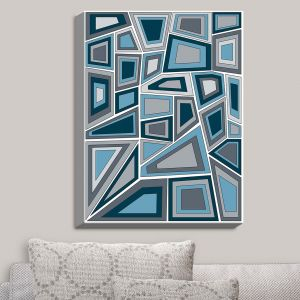 Decorative Canvas Wall Art | Valerie Lorimer - Mid Century Tango