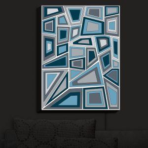 Nightlight Sconce Canvas Light | Valerie Lorimer - Mid Century Tango | Abstract