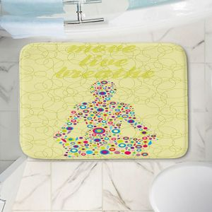 Decorative Bathroom Mats   Valerie Lorimer - Move Live Breath