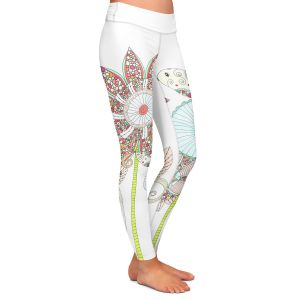 Casual Comfortable Leggings | Valerie Lorimer My Perfect Garden