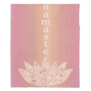 Artistic Sherpa Pile Blankets | Valerie Lorimer - Namaste