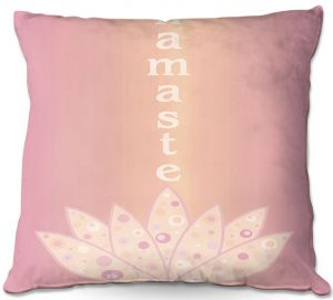 Decorative Outdoor Patio Pillow Cushion | Valerie Lorimer - Namaste
