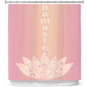Premium Shower Curtains | Valerie Lorimer - Namaste