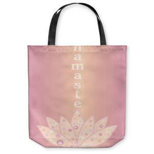 Unique Shoulder Bag Tote Bags | Valerie Lorimer - Namaste