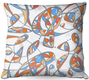 Throw Pillows Decorative Artistic | Valerie Lorimer - New Journey | abstract pattern