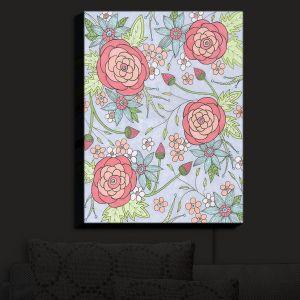Nightlight Sconce Canvas Light | Valerie Lorimer - Once Upon A Rose