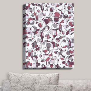 Decorative Canvas Wall Art | Valerie Lorimer - Orbit | Shapes Patterns