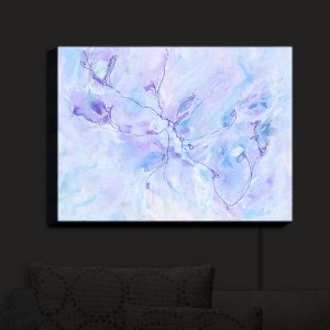 Nightlight Sconce Canvas Light | Valerie Lorimer - Poetry in the Sky | Abstract cracks