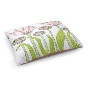 Decorative Dog Pet Beds | Valerie Lorimer's Spring Pink Garden