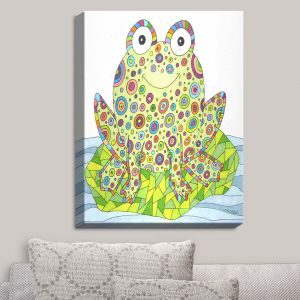 Decorative Canvas Wall Art | Valerie Lorimer - The Cheerful Frog