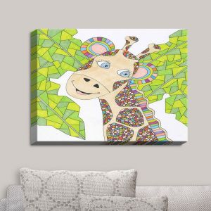 Decorative Canvas Wall Art | Valerie Lorimer - The Kind Giraffe