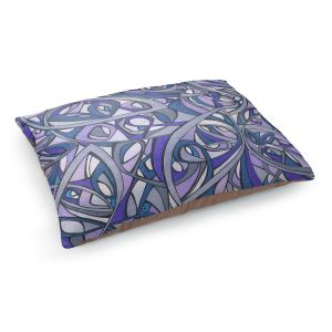 Decorative Dog Pet Beds   Valerie Lorimer - The Shape of My Dreams   abstract pattern