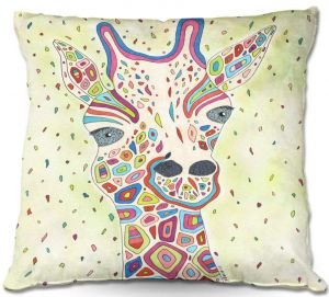 Decorative Outdoor Patio Pillow Cushion | Valerie Lorimer - The View From Up Here